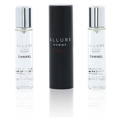 Chanel Allure Homme Sport 3X20Ml 60ml EDT Eau de Toilette Man Neu...