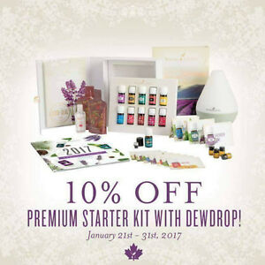 Essential Oils Premium Starter Kit for a Healthy 2017