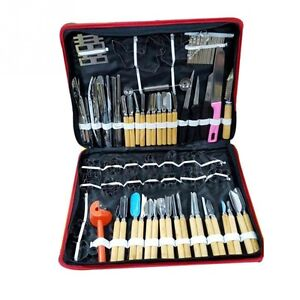 80pcs set Vegetable & Fruit Culinary Carving Tool Chef Kit