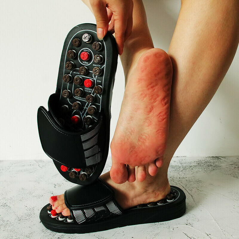 Sandalen Fußreflexzonenmassage Fußmassagegeräte Hausschuhe Akupressur Schuhe