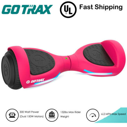 """Gotrax Flash 6.5"""" Hoverboard Kids Electric Self Balancing Scooter UL Certified"""