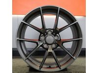 """19"""" M4 CS style wheels & tyres suitable for a BMW 3 or 4 series Etc"""