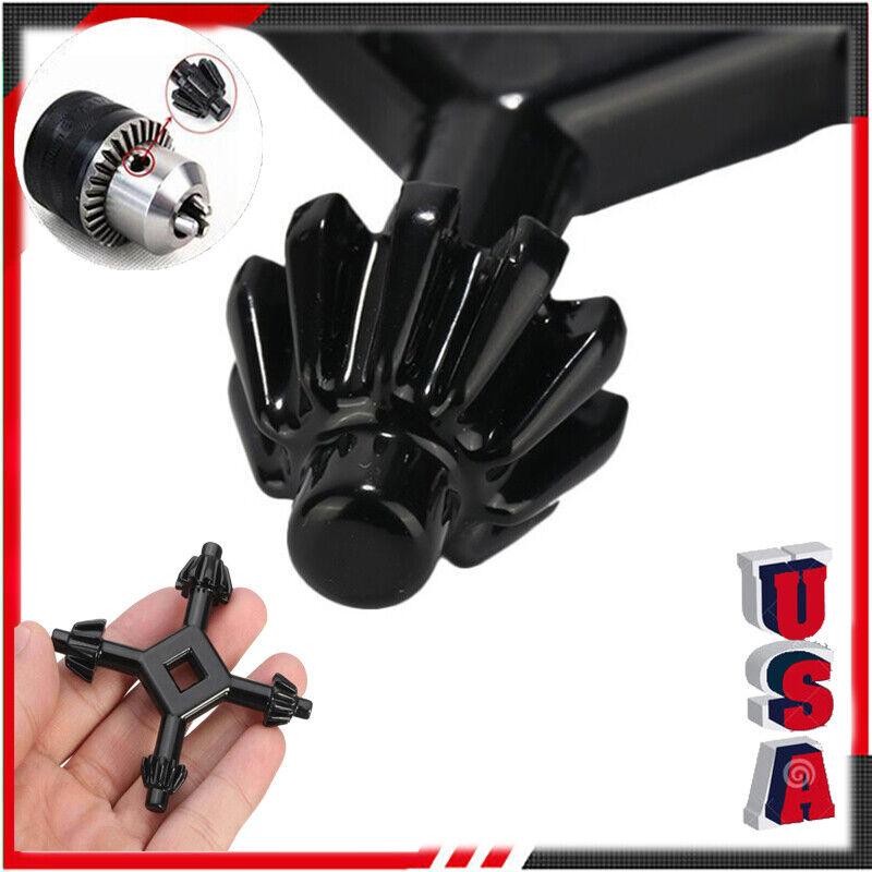 "4 Way Drill Press Chuck Key 1/2"", 9/16"", 11/16"", 5/8"" Universal Combination NEW"