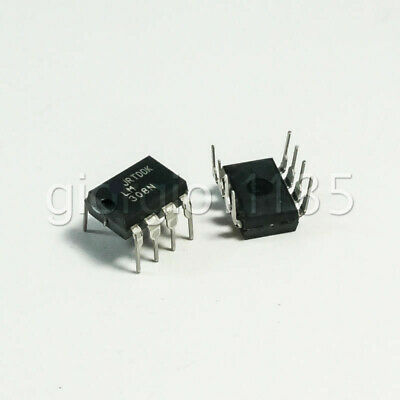 Us Stock 5pcs Lm308n Lm308 308n Operational Amplifiers Ic Dip-8 New