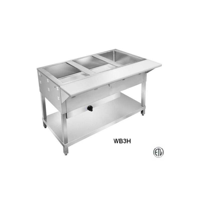 2 Well Wet LP Steam Table