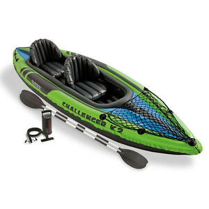 BRAND NEW - 2-Person Inflatable Kayak Set with FREE SHIPPING