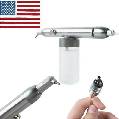 Dental Alumina Air Abrasion Polisher Microetcher Sandblasting 4 Hole Sandblaster