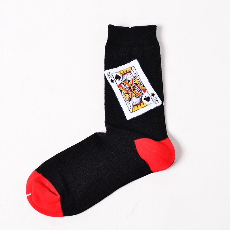 Fashion Mens Unisex Painting Art Funny Novelty Starry Night Vintage Retro Socks