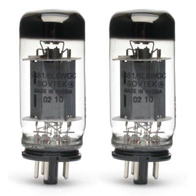 Pair of Sovtek 5881 / 6L6WGC Power Vacuum Tube