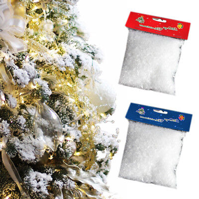 Xmas Magic White Snow Powder Christmas Tree Artificial Fake Snow Scene Decor 50G](Magic Christmas Tree)