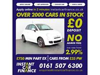Fiat 500 S Hatchback 1.2 Manual Petrol GOOD / BAD CREDIT CAR FINANCE