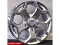 """(NEW) 4 X 18"""" Transit ST Style Alloys & Tyres 235/50 18 load rated £630 all in"""