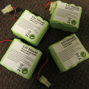9.6V 800mAh rechargeable Ni-Mh battery pack Kitchener / Waterloo Kitchener Area image 2
