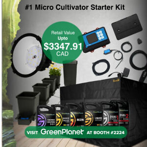 SELLING A COMPLETE INDOOR GROW KIT