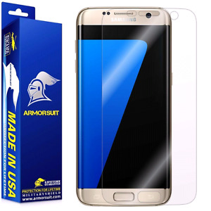 S7 EDGE oem Samsung Clear Case & Armorsuit screen protector