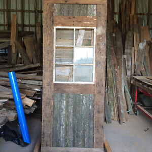 old barn doors and old windows many to choose from lots dif size