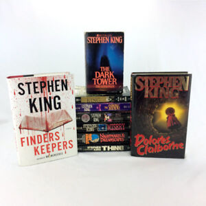 9 Stephen King Books Paperback Set Classic Collection Dark Tower