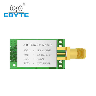 Nrf24l01p E01-ml01dp5 2.4ghz Nrf24l01 Pa Lna Rf Wireless Transceiver Rf Module
