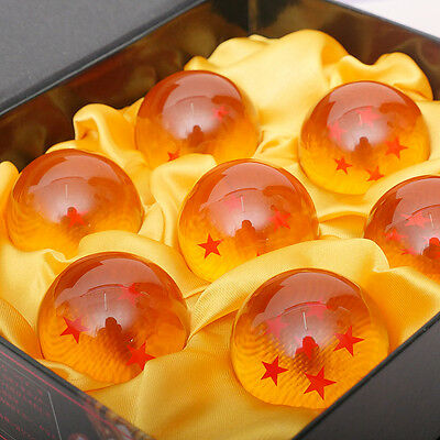1set 7 Stars Crystal Balls 3.5CM Dragon Ball Z Set New Box 7 Pcs Complete Set