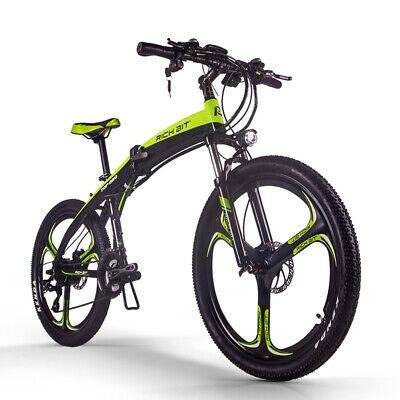 "RICHBIT Bicicleta Eléctrica Plegable 36V 250W 26"" Bicicleta De Ciudad TOP-880"