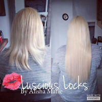 Luscious Fusion Hair Extensions By Alisha Marie