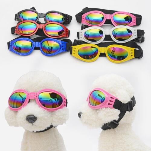 nuovo animale domestico CANE OCCHIALI da sole uv protezione occhi Wear Moda