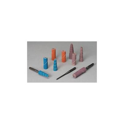 Aluminum Oxide Cartridge Rolls 1//2 X 2 Arbor Hole 1//8 Taper Medium