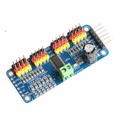 Pca9685 16-channel 12-bit Pwm Servo Motor Driver I2c Module For Arduino Robot