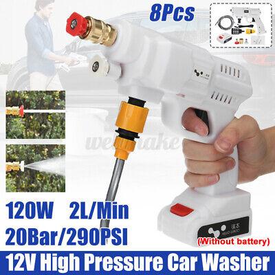 12V 120W High Pressure Car Washer Gun Handheld Auto Spray Powerful Car Washer