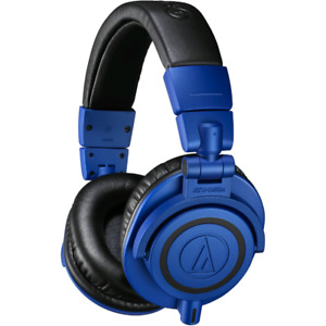 Audio technica ath m50x limited edition blue headphones