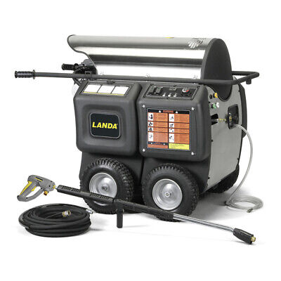 Landa Phw-22024f Hot Water Electric Belt Driven Pressure Washer - 1109-0820