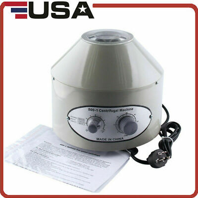 Electric Centrifuge Machine Laboratory Medical 4000rpm Rotor With 6x20ml Tubes