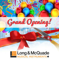 Check Out Long & McQuade's Grand Re-Opening in Bedford!
