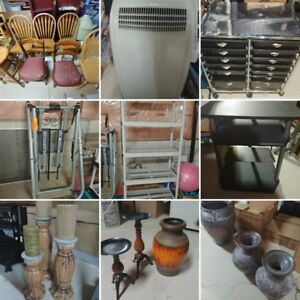 MOVING SALE. Various household items. Everything must go.