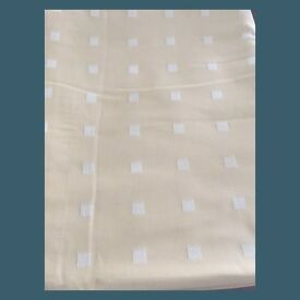 John Lewis Lined Curtains (90in long by 104in wide)