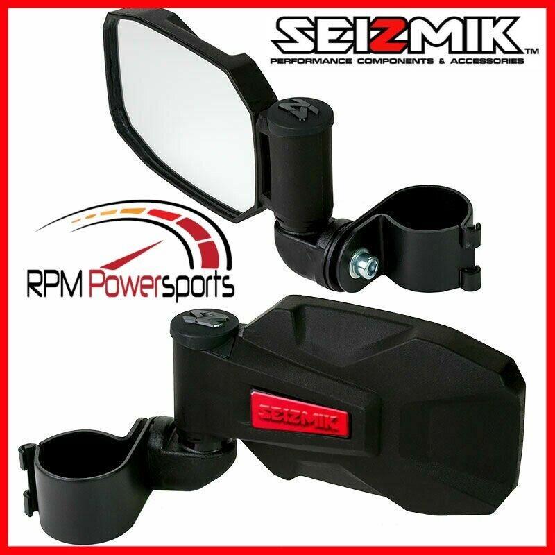 "RED STRIKE Seizmik Break-Away Side Mirrors 2/""-Can-am Maverick 1000 R Turbo Max"