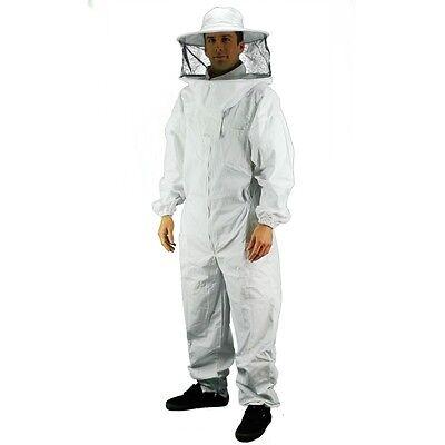 Eco -keeper Premium Beekeeping Suit Round Hood Veil-bee Suit- Xx Large