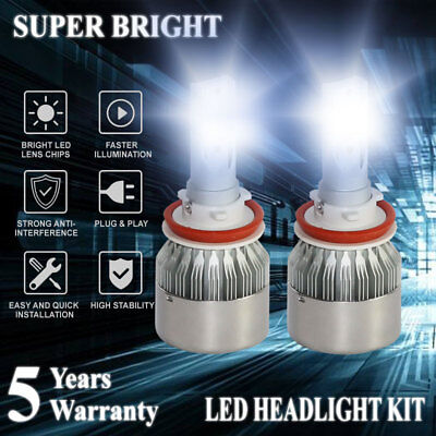 H8 H9 H11 1800W 270000LM LED Headlight Bulbs Conversion Kit 6000K Hight Low Beam for sale  Hacienda Heights