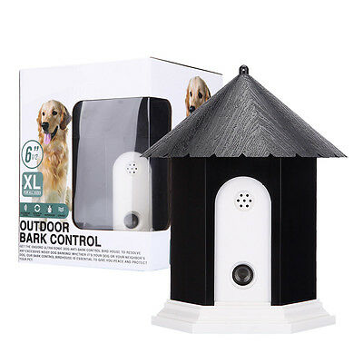 Puppy Dog Outdoor Ultrasonic Anti Barking Control Birdhouse Nuisance - Nuisance Barking