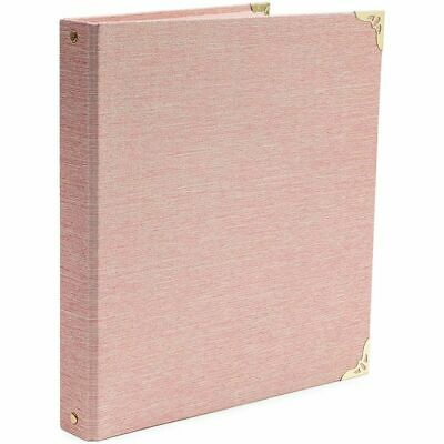 3 Ring Binder Gold File Folders