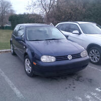 2002 Volkswagen Golf GL Coupe (2 door)