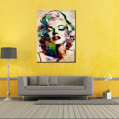 HD Print on Canvas Painting Marilyn Monroe Picture Wall Art Home Decor Unframed