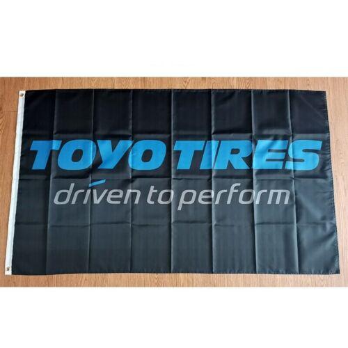 New 90x150cm Toyo Tires Tyres Racing F1 WRC JDM Car Service Gift Drift Race
