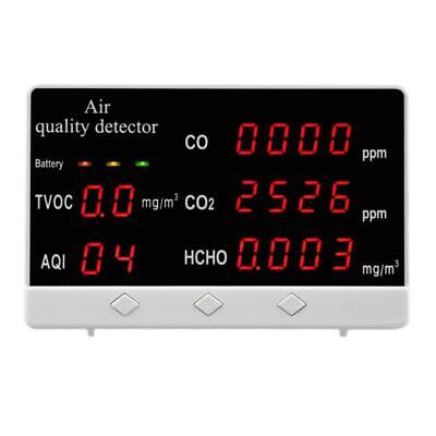 Indoor Outdoor Air Quality Monitor Cohchotvoc Tester Co2 Meter Gas Analyzer