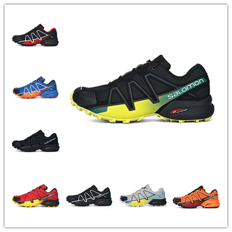Details zu Salomon Speedcross 4 Herren Outdoorschuhe Laufschuhe Cross Schuhe Hikingschuhe
