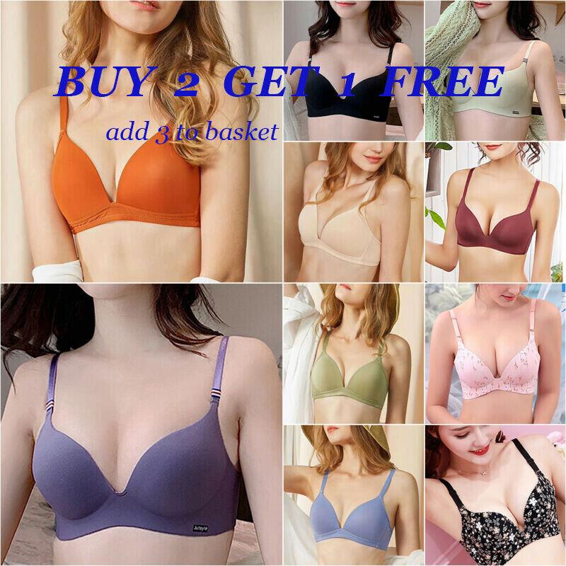 Women Lingerie Push Up Padded Bra Seamless Wireless Underwear Bralette Bras Top Bras & Bra Sets