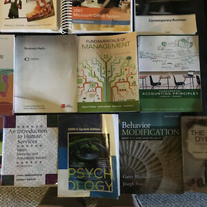 Human Services, Early Childhood Education and Business Textbooks