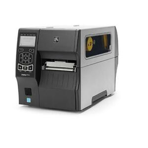 Zebra ZT410 Serial Direct Thermal/Thermal Transfer Printer, 203 Dpi - USB, Serial, Ethernet and Bluetooth connectivity