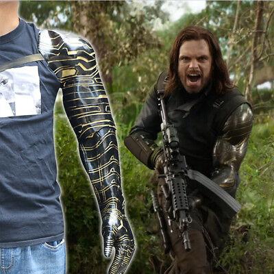 Avengers Infinity War Winter Soldier Bucky Barnes PVC Armor Arm cosplay Kostüme