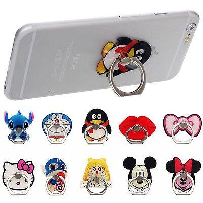 Metal Finger Ring Stand Holder Stick Mount Bracket For iPhone Samsung All phone